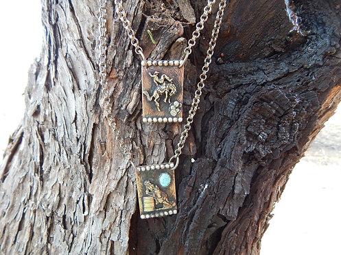 Rodeo Pendant Necklaces