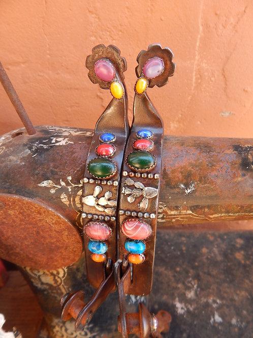 Colorful Prickly Pear Ladies Spur