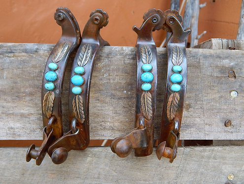 Turquoise Feather Ropers