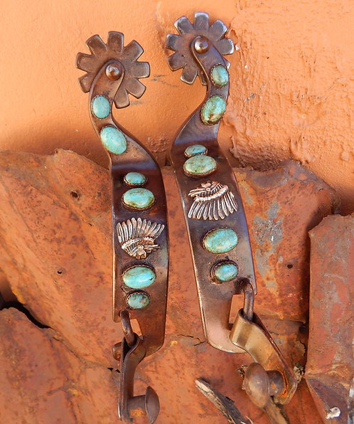 Turquoise Chief All Around Spurs