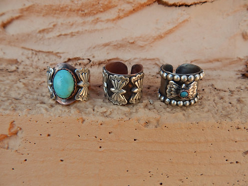 Indian Butterfly Rings