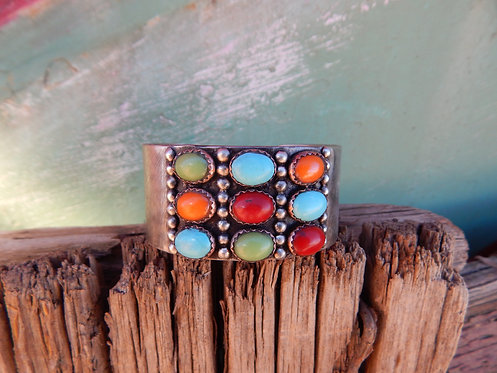 Colors of Spring Cuff Bracelet