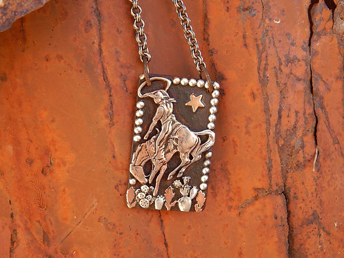 Salty Bronc Necklace