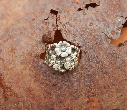 Cactus Flower Ring