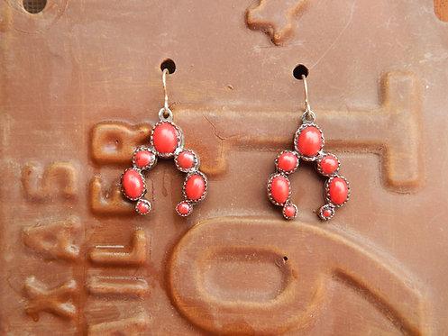 Corral Squash Blossom Earrings