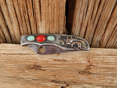 Old Truck Small Spyderco