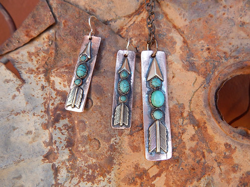 Sonoita Arrow Necklace
