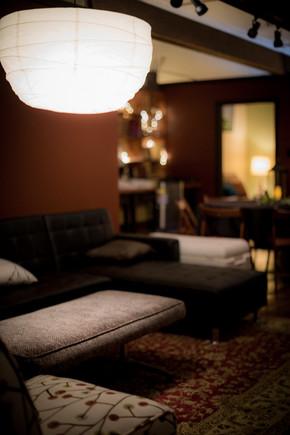 sundance downstairs seating area