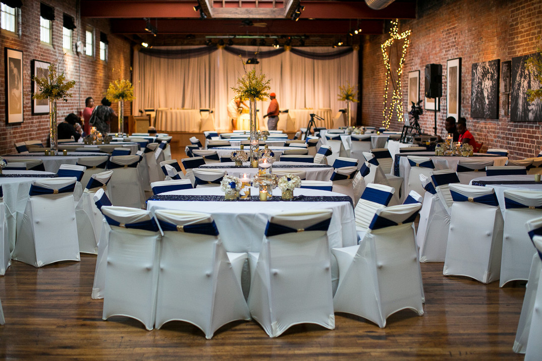 seating for 150 with chair covers