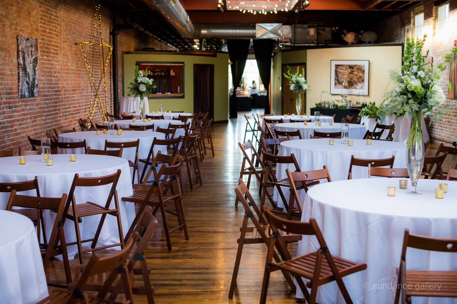 Simple Wedding Reception Set Up