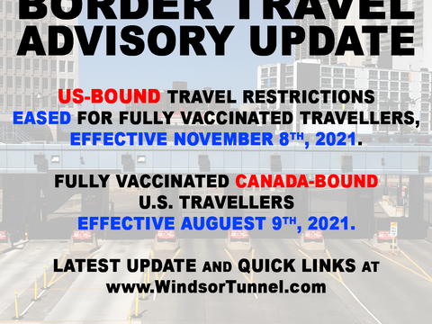 New Update for US-bound Travel