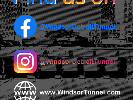 Windsor Tunnel Facebook & Instagram