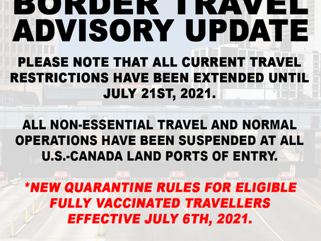 Government of Canada had announced new quarantine rules