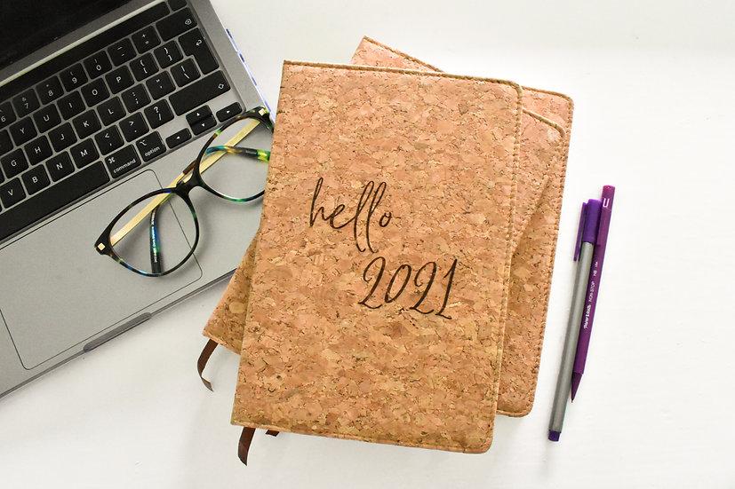 2021 Cork Diary & Notebook