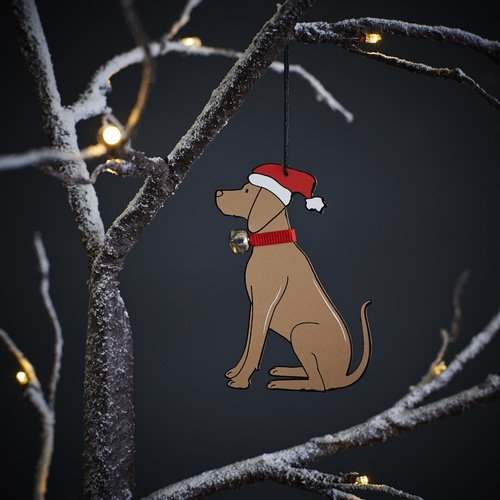Dog Christmas Decoration
