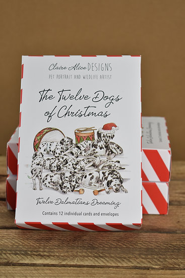 Twelve Dogs of Christmas - Claire Alice Designs