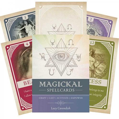 Magickal Spellcards kortos