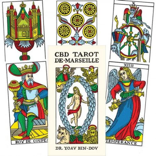 Taro kortos CBD Tarot De Marseille
