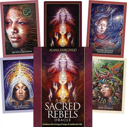 Oracle kortos Sacred Rebels