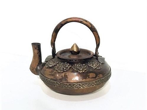 Varinis arbatinukas su 8 Tibeto simboliais