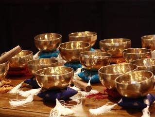 Tibetietiškų dubenų garso meditacija