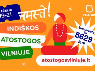 Birželio 19-21 d. apsilankykite Mahamudroje ir iš arčiau susipažinkite su Indijos kultūra!