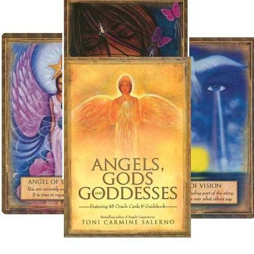 Oracle kortos Angels, Gods, & Goddesses