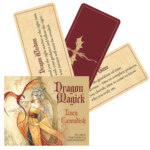 Dragon Magick Oracle kortos