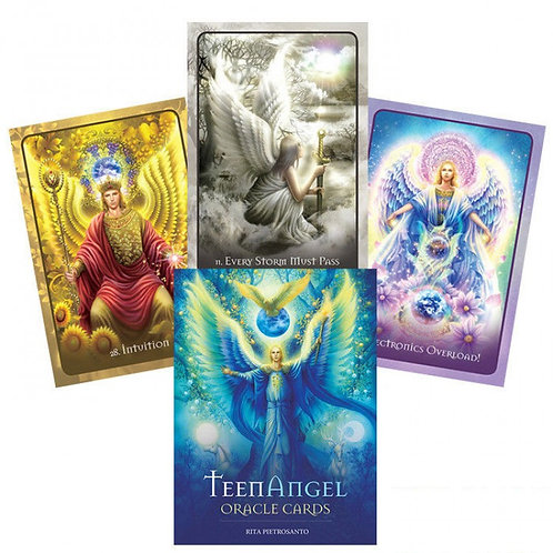 TeenAngel Oracle Cards taro kortos