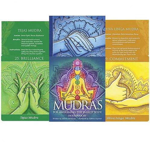 Meditation kortos Mudras for Awakening the Energy Body