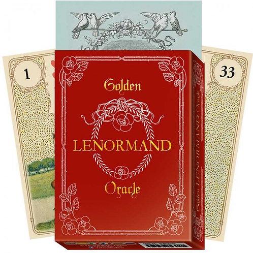 Oracle kortos Golden Lenormand