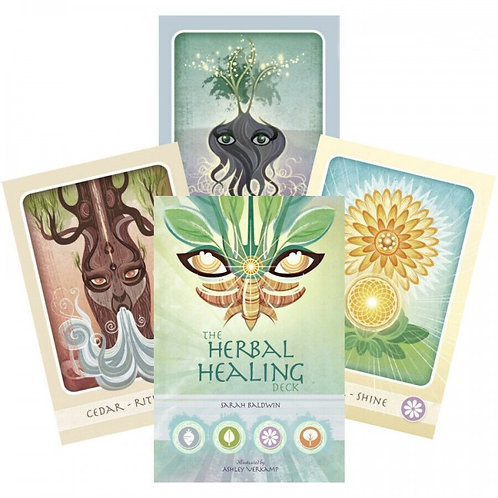 Taro Kortos Herbal Healing Deck