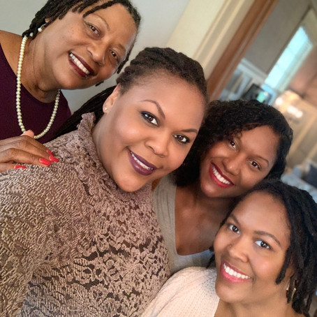 Hit Hard Like Sledgehammers: The Sledge Family Mothers Day Episode with Chandra's mom and sisters!