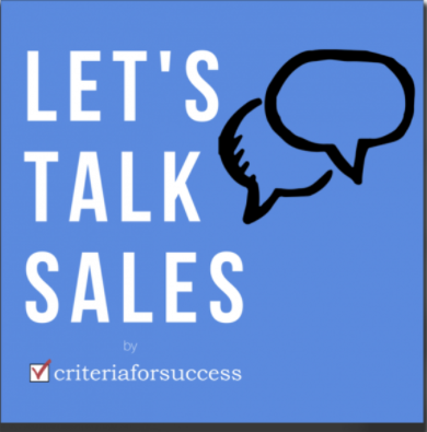 Lets talk sales
