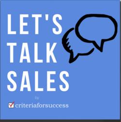 Lets talk sales