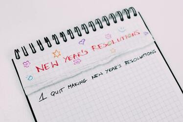 Why You Shouldn't Make Sales Resolutions