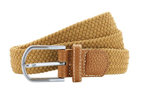 Caramel Woven Belt