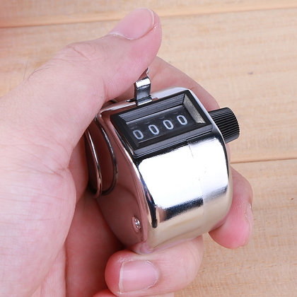 Counter Clicker Number 4 Digit Tally Count - Shooting Hunting