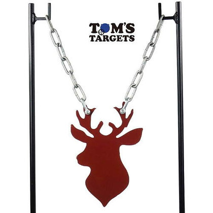 Stag Head With Stand Toms Targets Hardox 500 Target