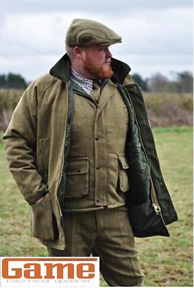 Men's Tweed Game Jacket Coat