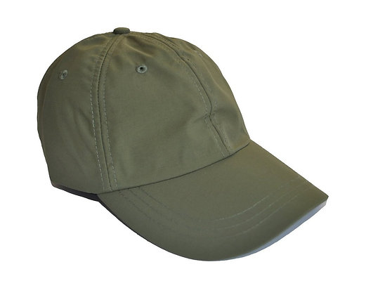 Olive Green Water Resistant Cap