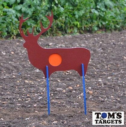 Reactive Deer Toms Targets Hardox 500 Target