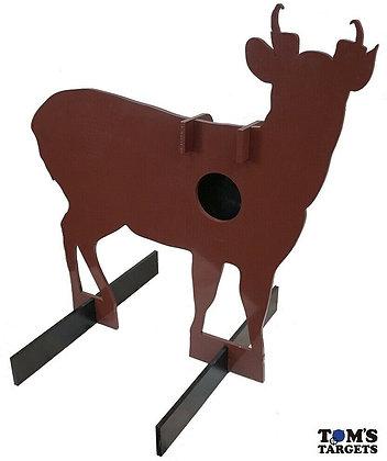 Muntjac Deer Reactive Hardox 500 Target Life Size