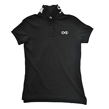 NO.1 Ladies Black Polo