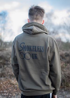 Smokeless UK Hoodie (Black Text)
