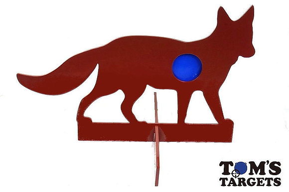 Fox Reactive Target With Stand Toms Targets Hardox 500 Target