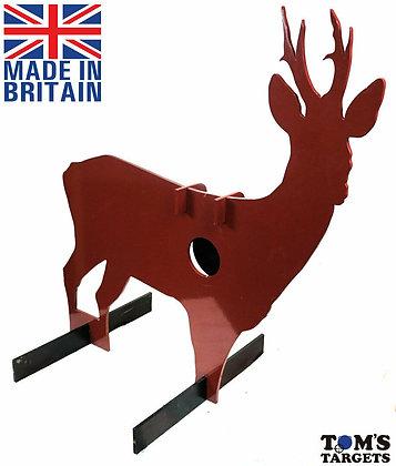 Roe Deer Reactive Hardox 500 Target Life Size