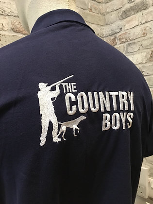 Country Boys UK Navy Polo