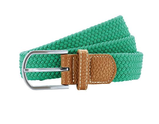 Lime Woven Belt