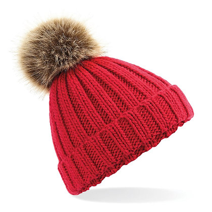 Cherry Bobble Hat
